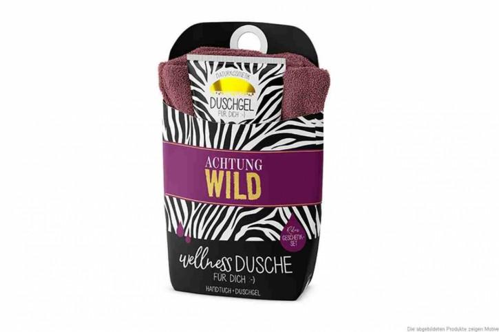 Wellnessdusche - Achtung Wild