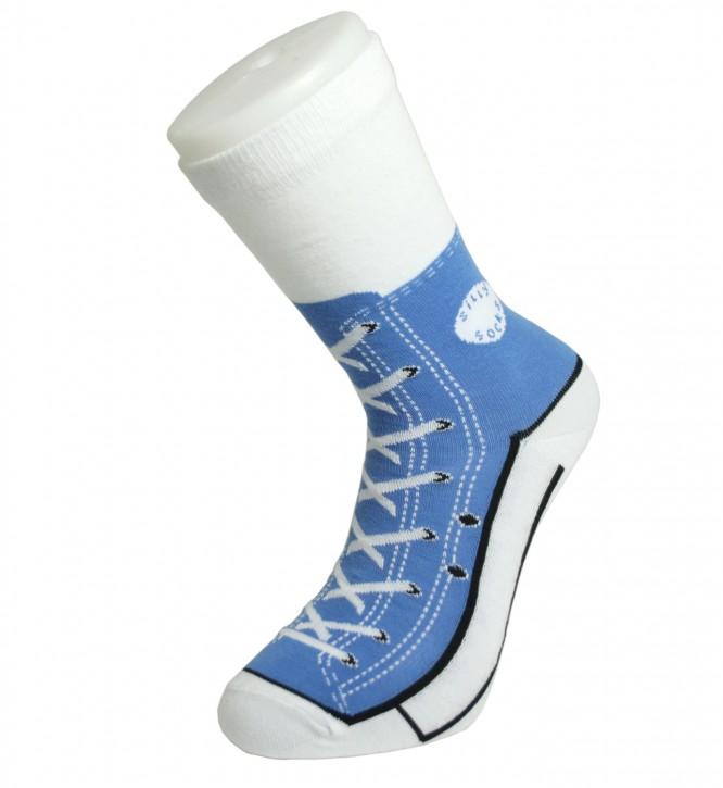 Sneaker Socken blau