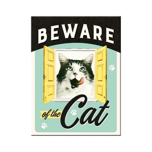 Magnet - Beware of the Cat