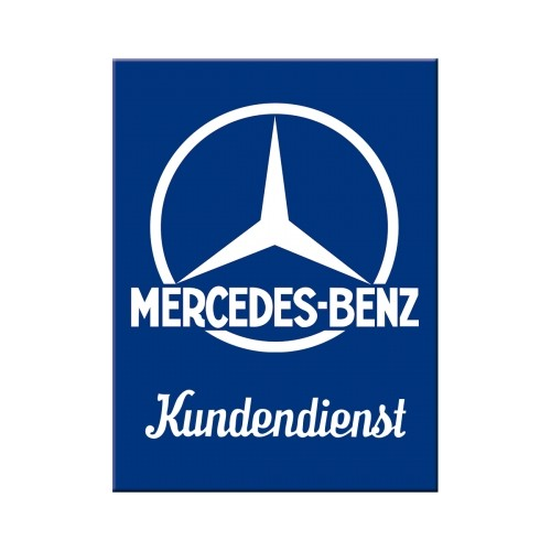 Magnet -  Mercedes-Benz - Kundendienst