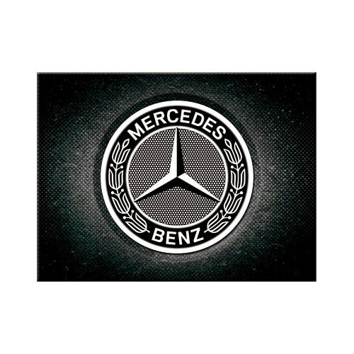 Magnet - Mercedes-Benz - Logo Black