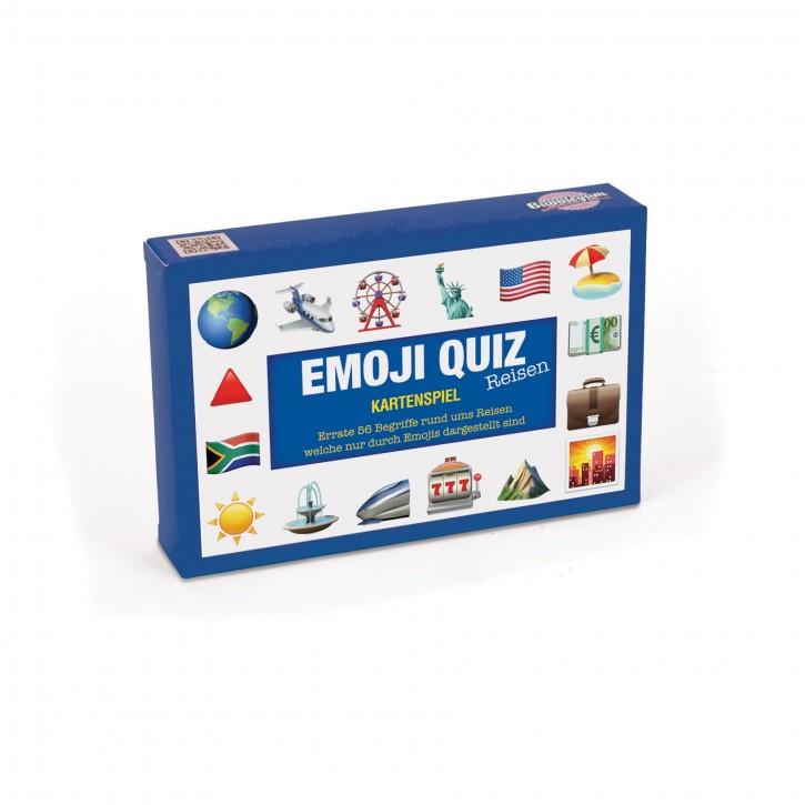 Kartenspiel - Emoji Quiz (Reisen)