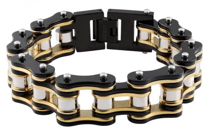 Zippo Armband - Bike Chain BlackGold