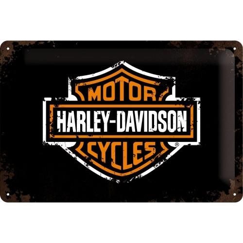 Blechschild Harley-Davidson Paint 20x30 cm