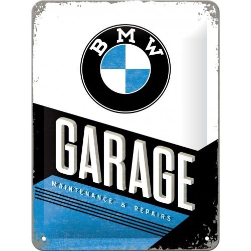 Blechschild - BMW - Garage, 15 x 20 cm