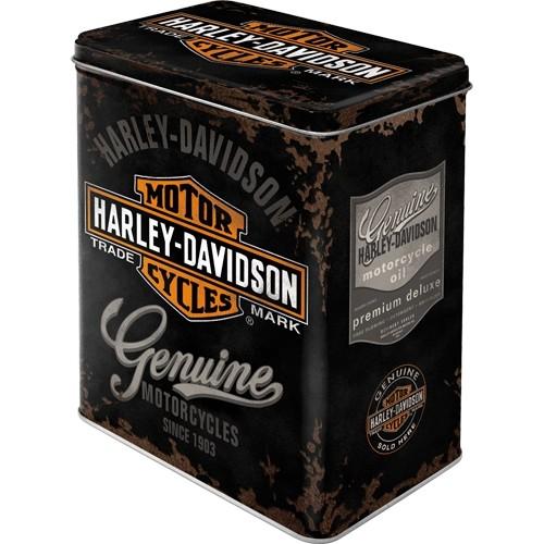 Vorratsdose L Harley-Davidson Genuine Logo