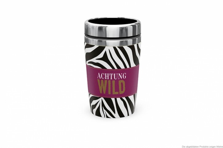Thermobecher To Go (240ml) - Achtung Wild
