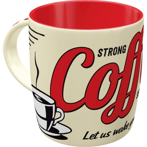 Tasse - Strong Coffee Served Here