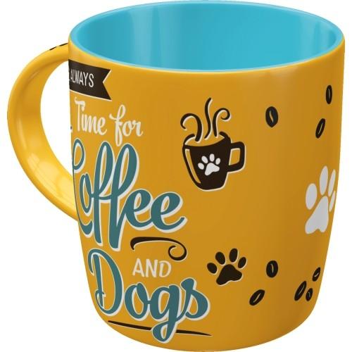 Tasse - PfotenSchild - Coffee and Dogs