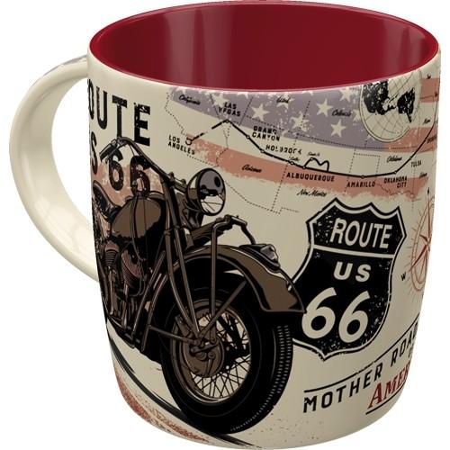 Tasse - Route 66 Bike Map