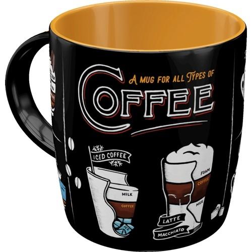 Tasse - All Types of Coffee