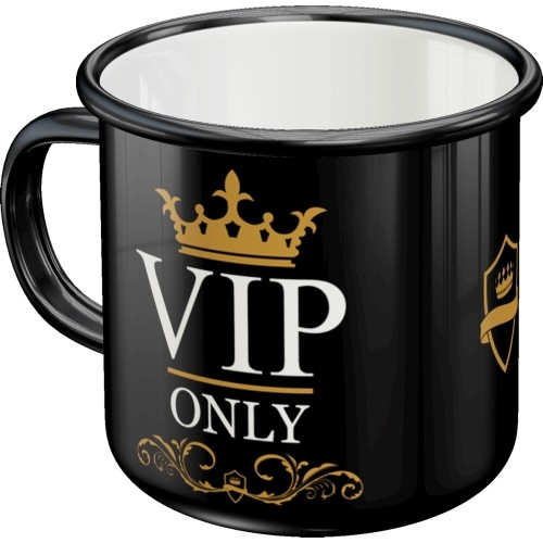 Emaille-Becher - VIP Only