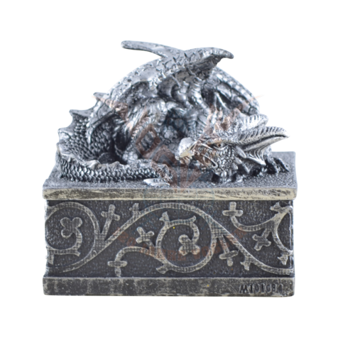 Drachenbox silber