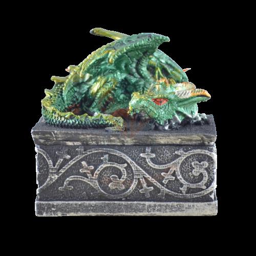 Drachenbox grün