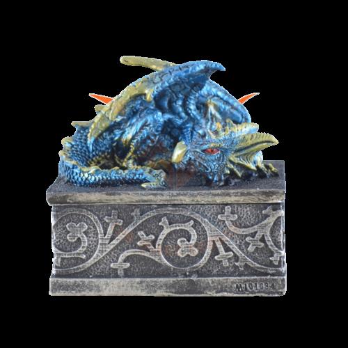 Drachenbox blau