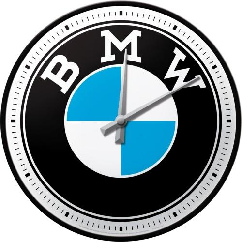 Wanduhr - BMW - Logo