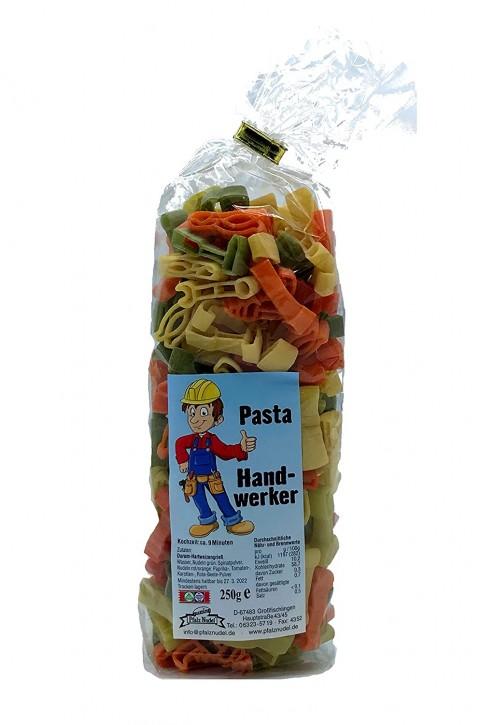 """Pfalznudel - """"Pasta Handwerker"""" - bunt 250g"""