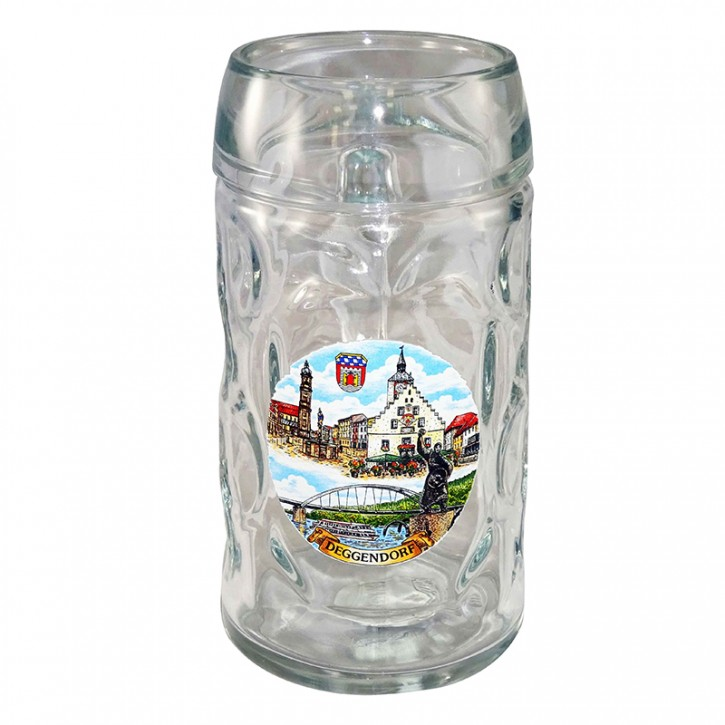 Bierkrug 0,5l Deggendorf
