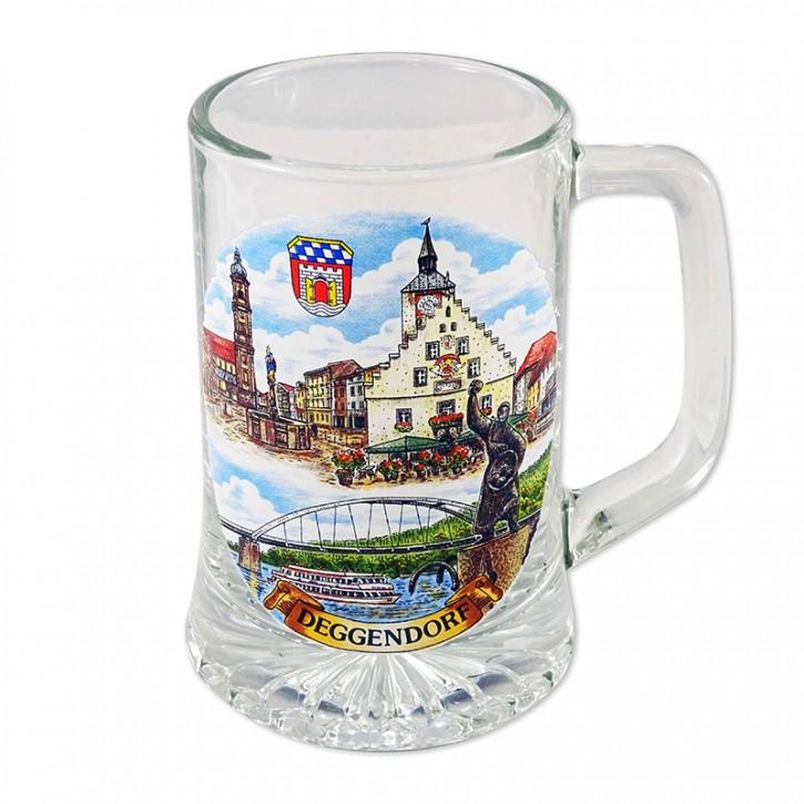Sternseidl Bierkrug 0,25l Deggendorf