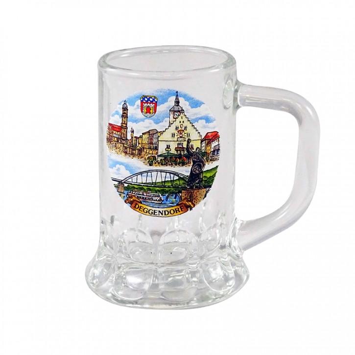 Deggendorfer Schnapsglas Seidelchen Hans 2cl