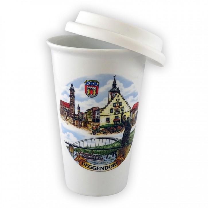 Coffee-To-Go Becher Deggendorf