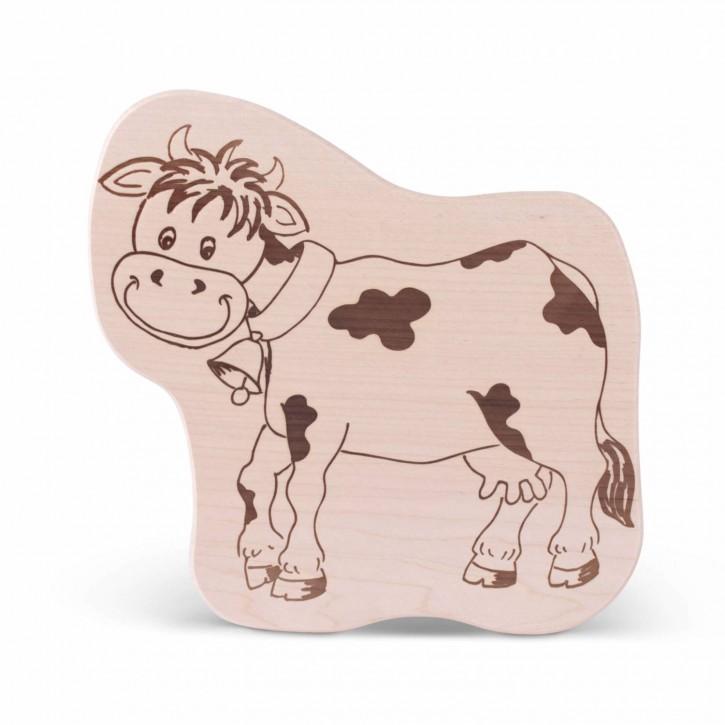 Brotzeitbrettl - Kuh