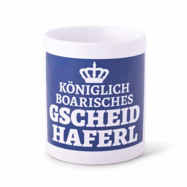 Tasse - Königlich boarisches Gscheidhaferl