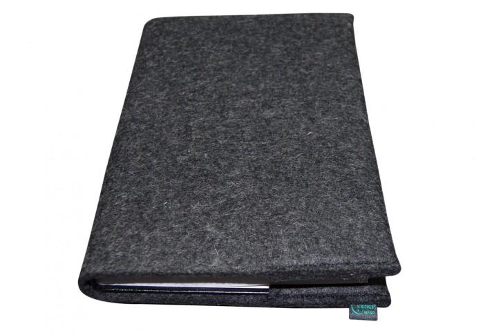 Filz-Einband + Kalender, DinA5, Umschlag blanko, Farbe zur Auswahl, 100% Wollfilz Beste Filzqualität