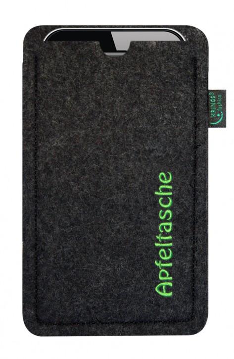 iPhone-Tasche/Hülle Apfeltasche Filz zur Auswahl - Wähle apple-Modell