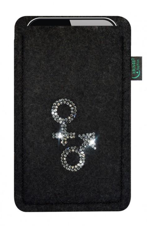 Tasche/Hülle Venus+Mars Filz Farbe zur Auswahl - Wähle Smartphone