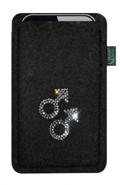 Tasche/Hülle gay Filz Farbe zur Auswahl - Wähle Smartphone