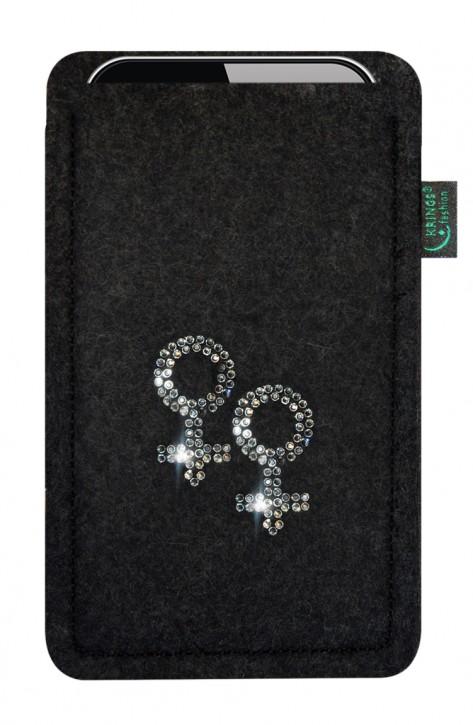 Tasche/Hülle Lesbisch Filz Farbe zur Auswahl - Wähle Smartphone