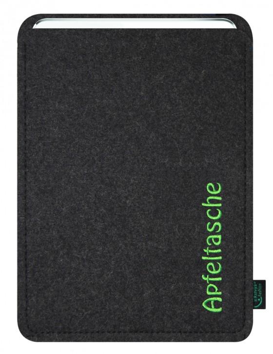 iPad Air 2 / iPad Air Tasche/Hülle Apfeltasche Filz Farbauswahl