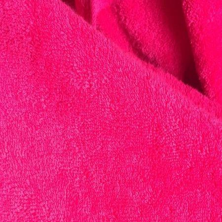 2er Set Handtuch, 50x100cm, himbeere; edel und hautsympathisch