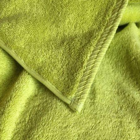 2er Set Handtuch, 50x100cm, kiwi; edel und hautsympathisch