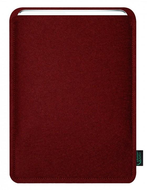 iPad mini 4 Tasche/Hülle blanko Filz bordeaux
