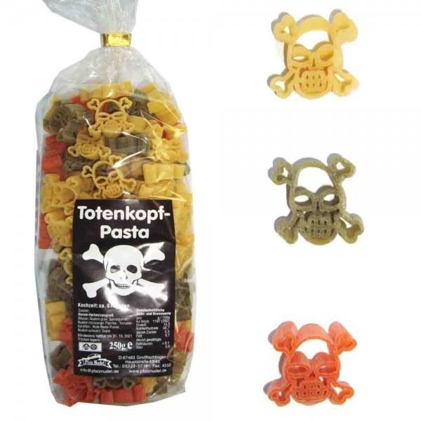 "Pfalznudel - ""Totenkopf-Nudeln"" bunt 250g"