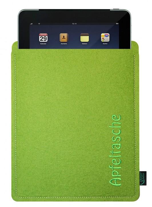 iPad 4 Tasche/Hülle Apfeltasche Filzfarbe zur Auswahl