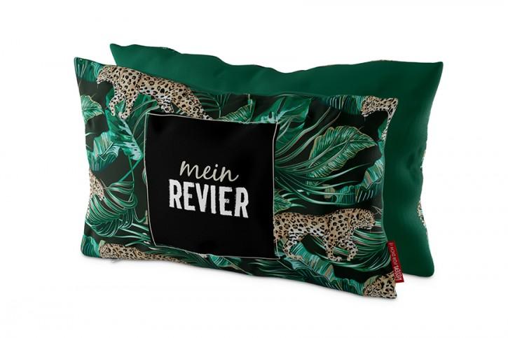 Kissen (23 x 40 x 13 cm) - Mein Revier