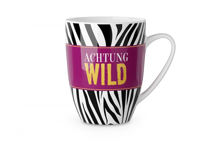 Becher - Achtung Wild