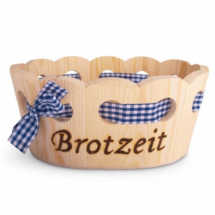 Holzkorb Brotzeit