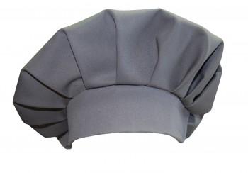 Kochmütze blanko, für Profis, Arbeitskleidung, graphitgrau