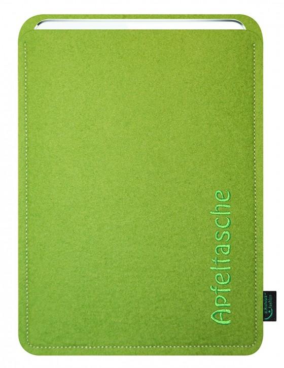 iPad mini 4 Tasche/Hülle Apfeltasche Filz lime
