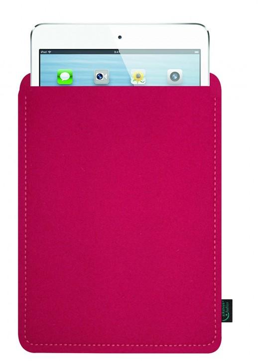iPad mini 4 Tasche/Hülle blanko Filz pink