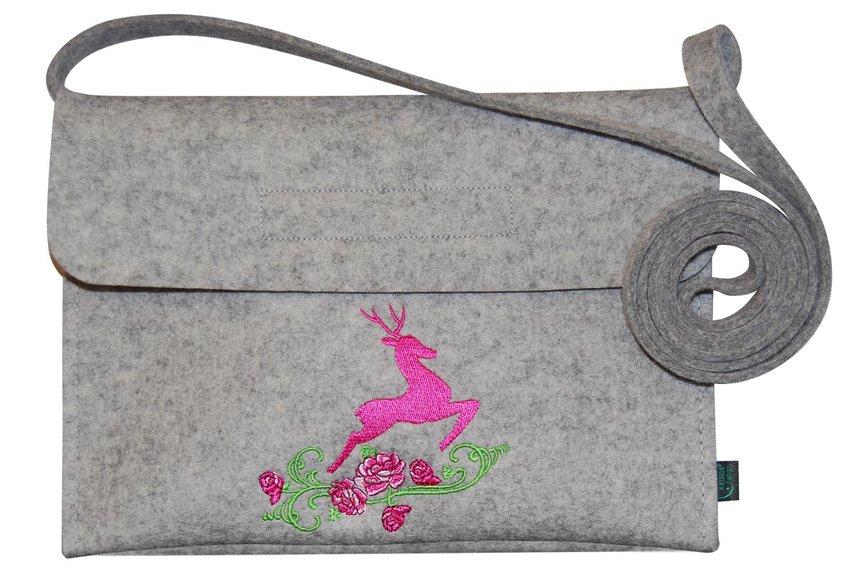 Filztasche Tracht Dirndltasche Trachtentasche Mit Stickerei