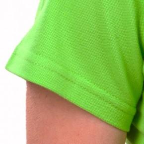 KringsFashion® Damen-Poloshirt Fine Line, tailliert, Farbe lime