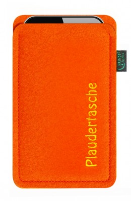 Tasche/Hülle Plaudertasche Filz Farbe zur Auswahl - Wähle Smartphone
