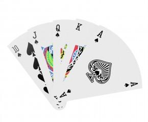 Spielkarten - Pizza Poker